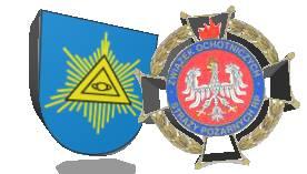 logo związku osp rp oraz wsi kończyce